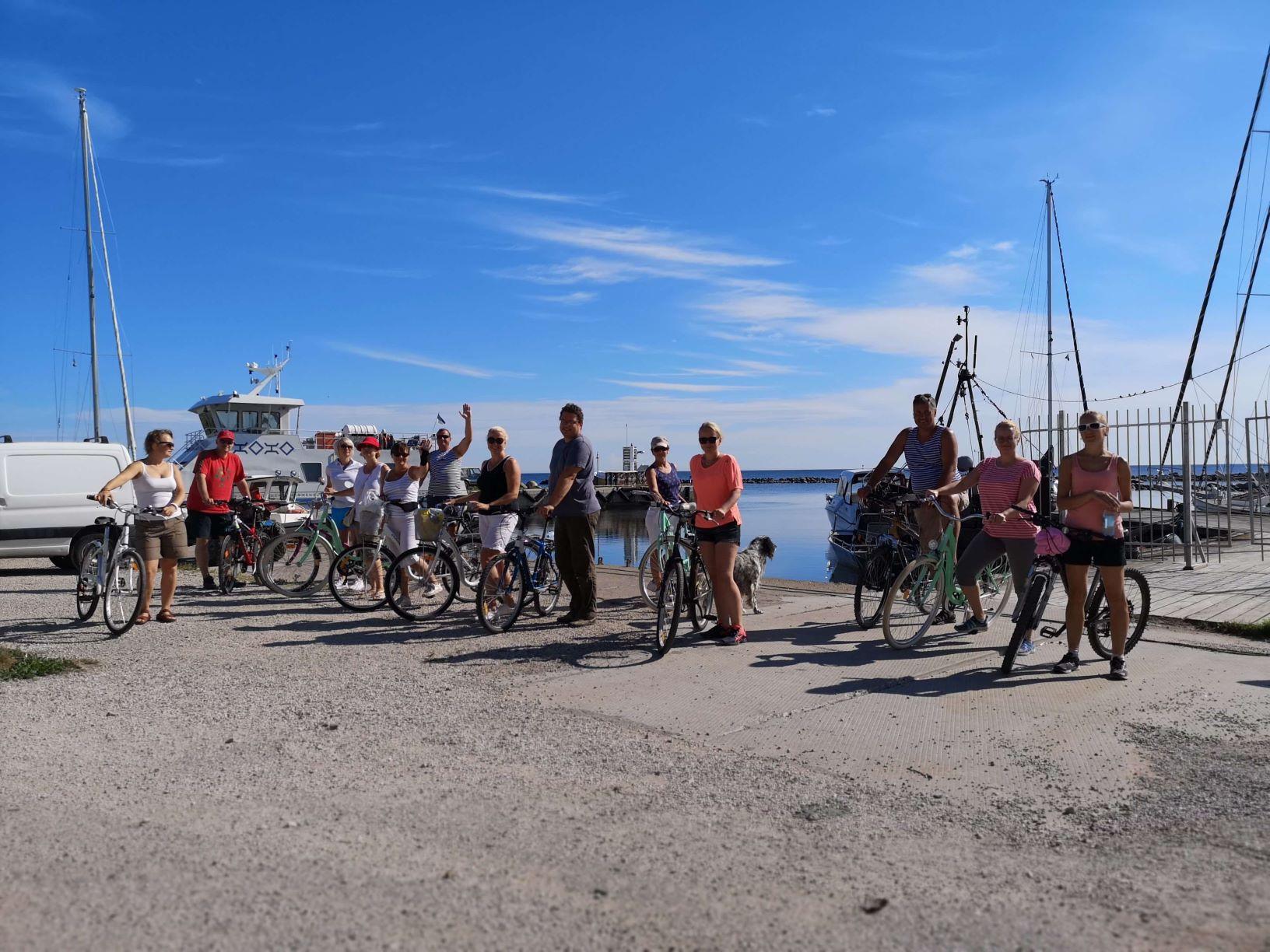 """Harjumaa Leader tegevusgruppide Inspiratsiooniväljasõit """"Turism Prangli saare näitel"""" 3. – 4. august 2018"""